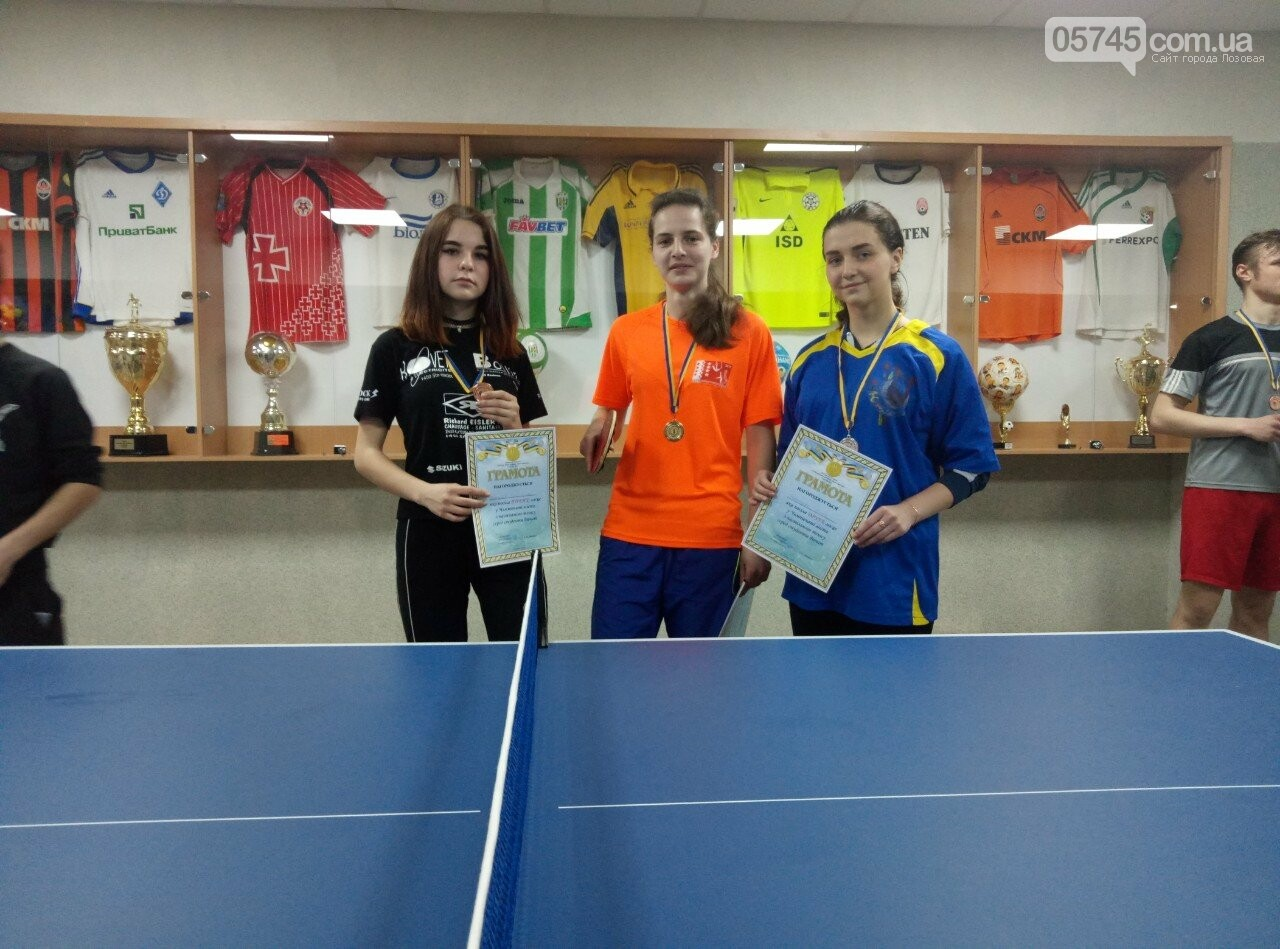 В Лозовой провели чемпионат по настольному теннису среди студентов , фото-2