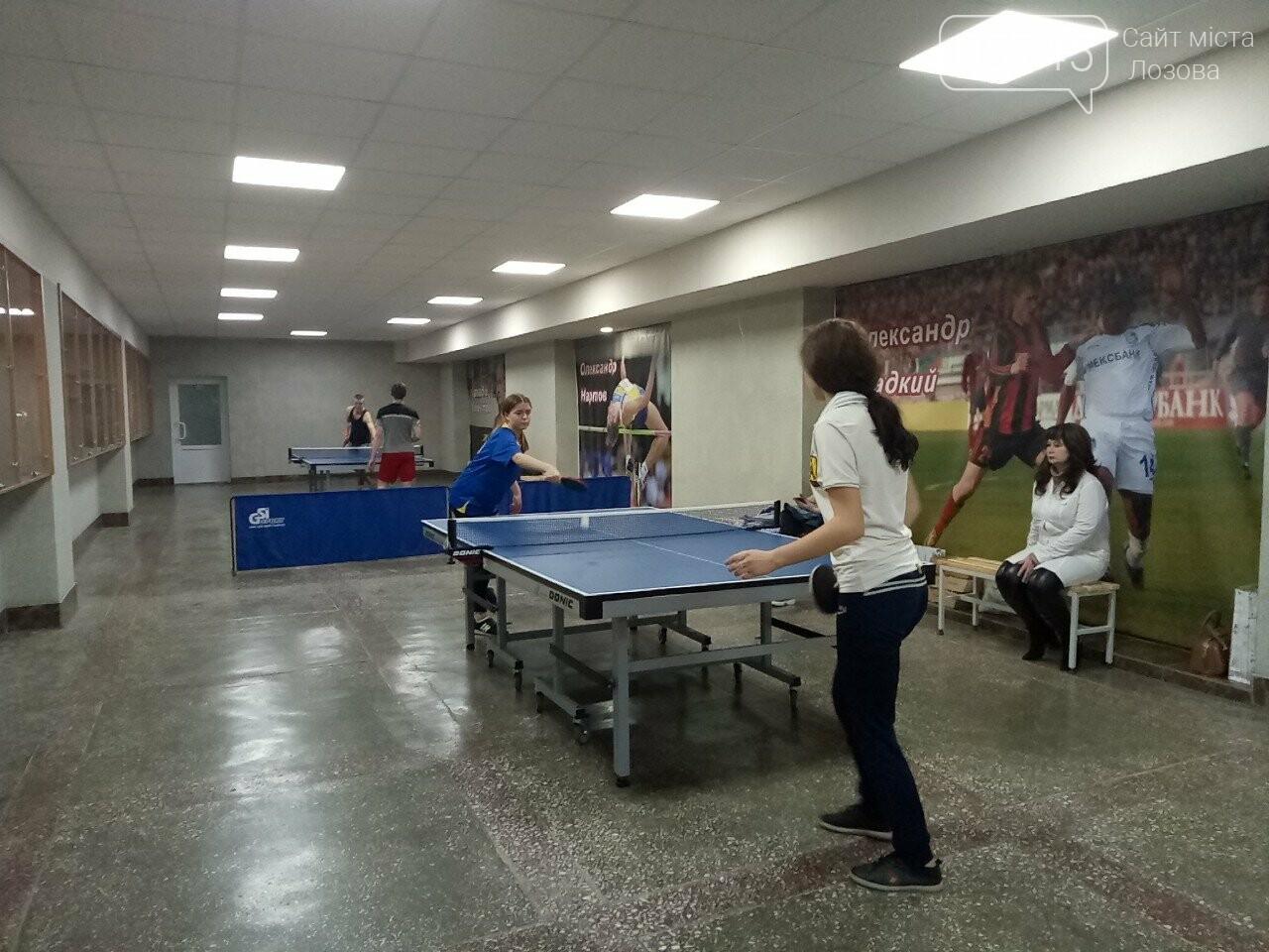 В Лозовой провели чемпионат по настольному теннису среди студентов , фото-5