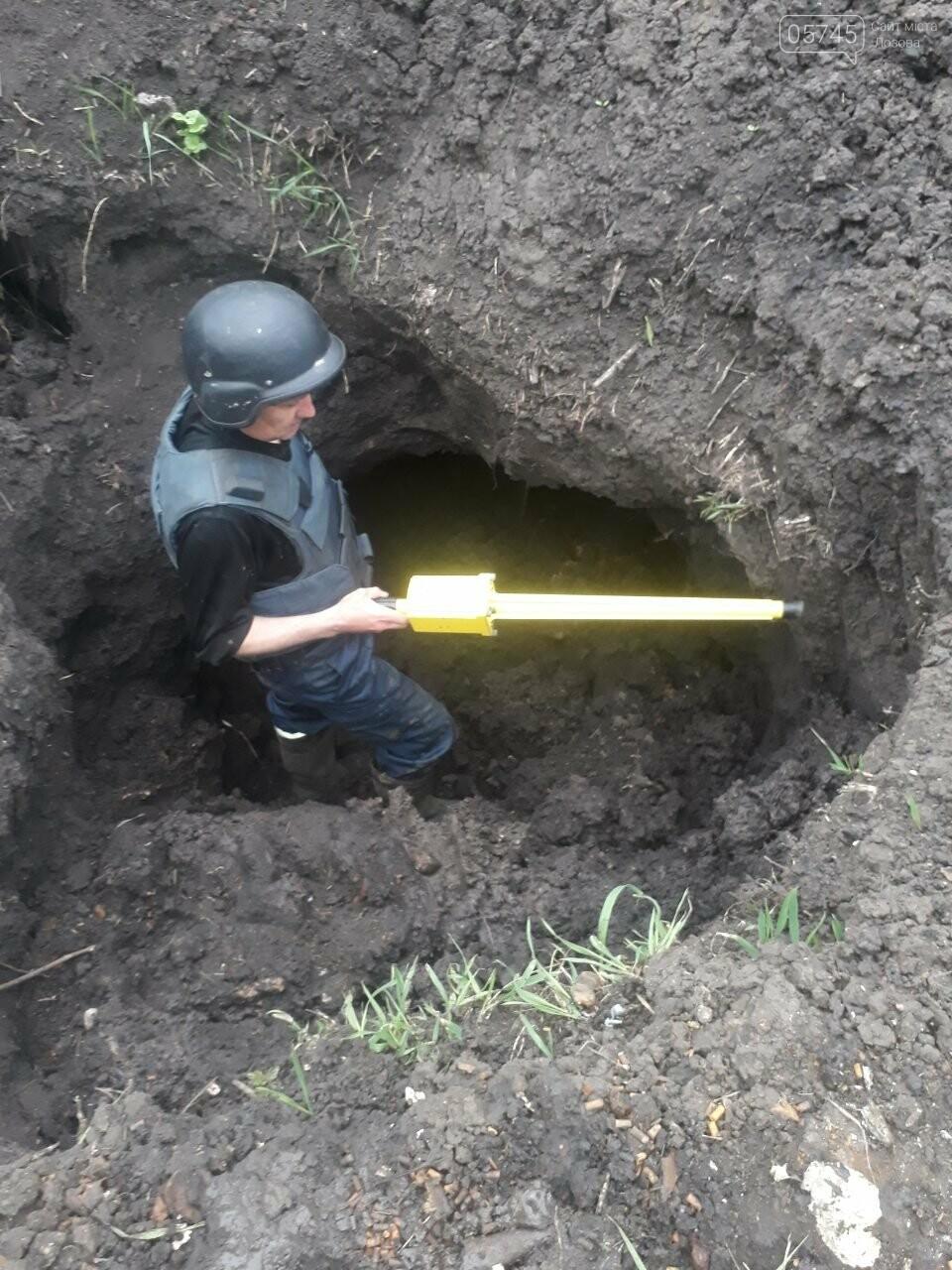 В Лозовском районе обнаружили боеприпасы времен Второй мировой войны, фото-2