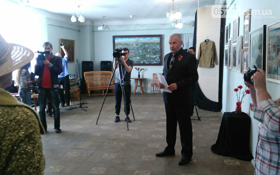 """В Лозовском музее открылась выставка """"Лица забытых победителей"""", фото-8"""