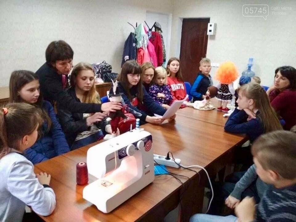 В Лозовой учат делать кукол из текстиля , фото-2