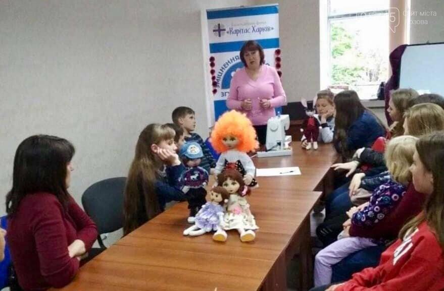 В Лозовой учат делать кукол из текстиля , фото-4