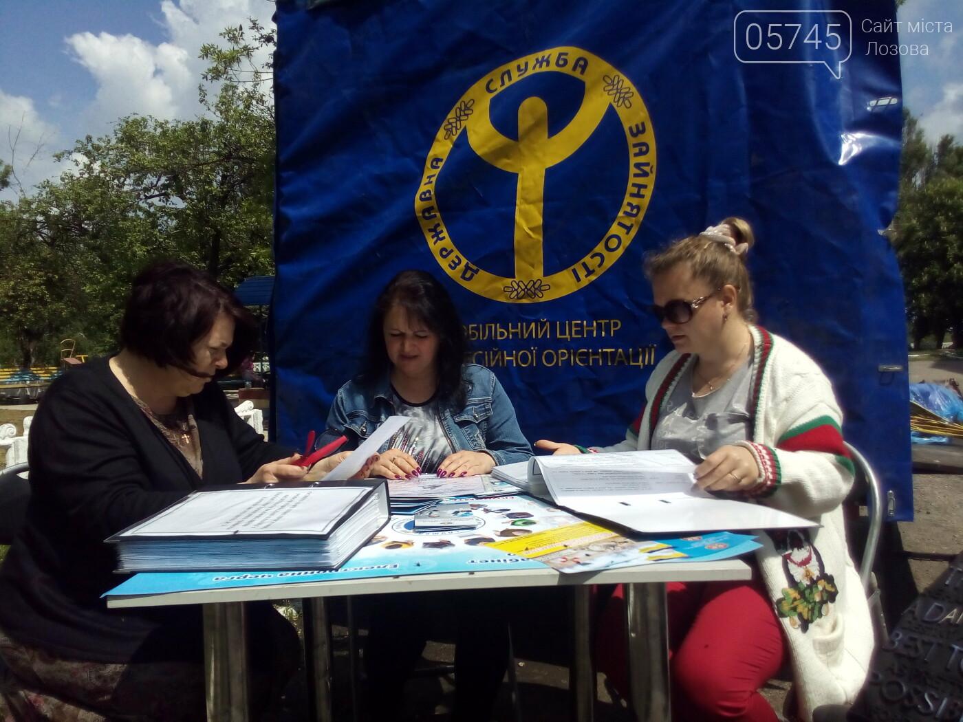 К жителям Лозовской ОТГ приезжал мобильный центр профориентации, фото-1
