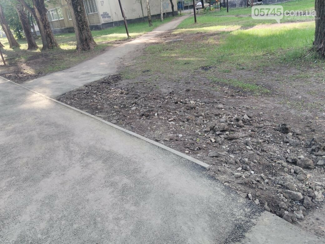 На 5-м микрорайоне завершили ремонт тротуара, фото-3