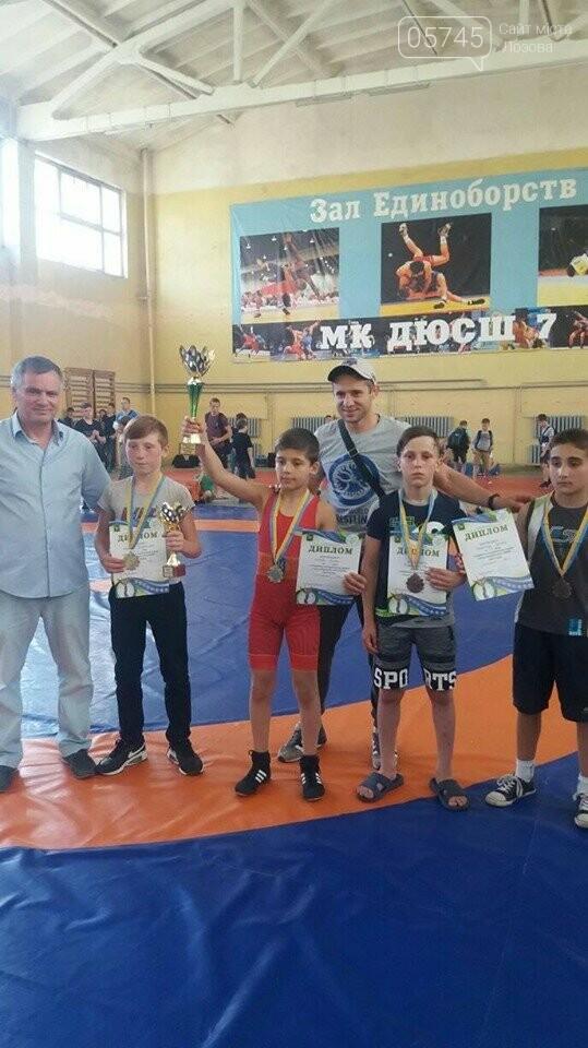 Лозовские борьбисты вернулись с турнира с целым набором медалей, фото-2