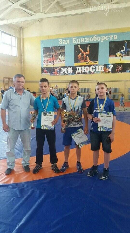 Лозовские борьбисты вернулись с турнира с целым набором медалей, фото-1