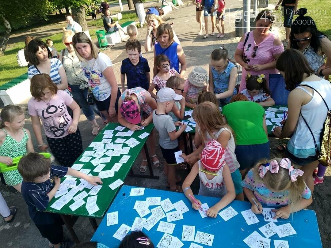 Вторая часть празднования Дня защиты детей в Лозовой, фото-16