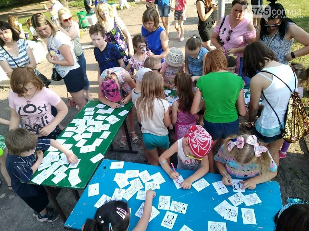 Вторая часть празднования Дня защиты детей в Лозовой, фото-19