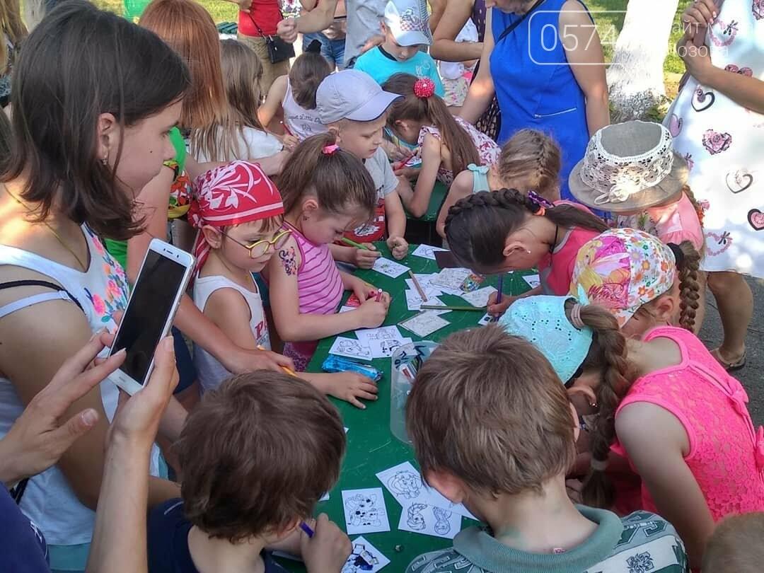 Вторая часть празднования Дня защиты детей в Лозовой, фото-17