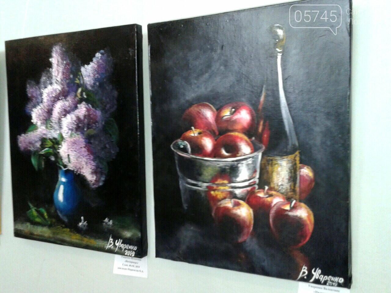 В Лозовском музее открылась первая выставка учениц художественной школы, фото-8