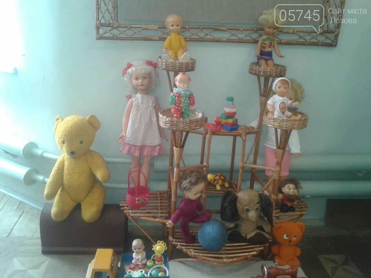 В Лозовском музее проходит выставка раритетных игрушек, фото-2