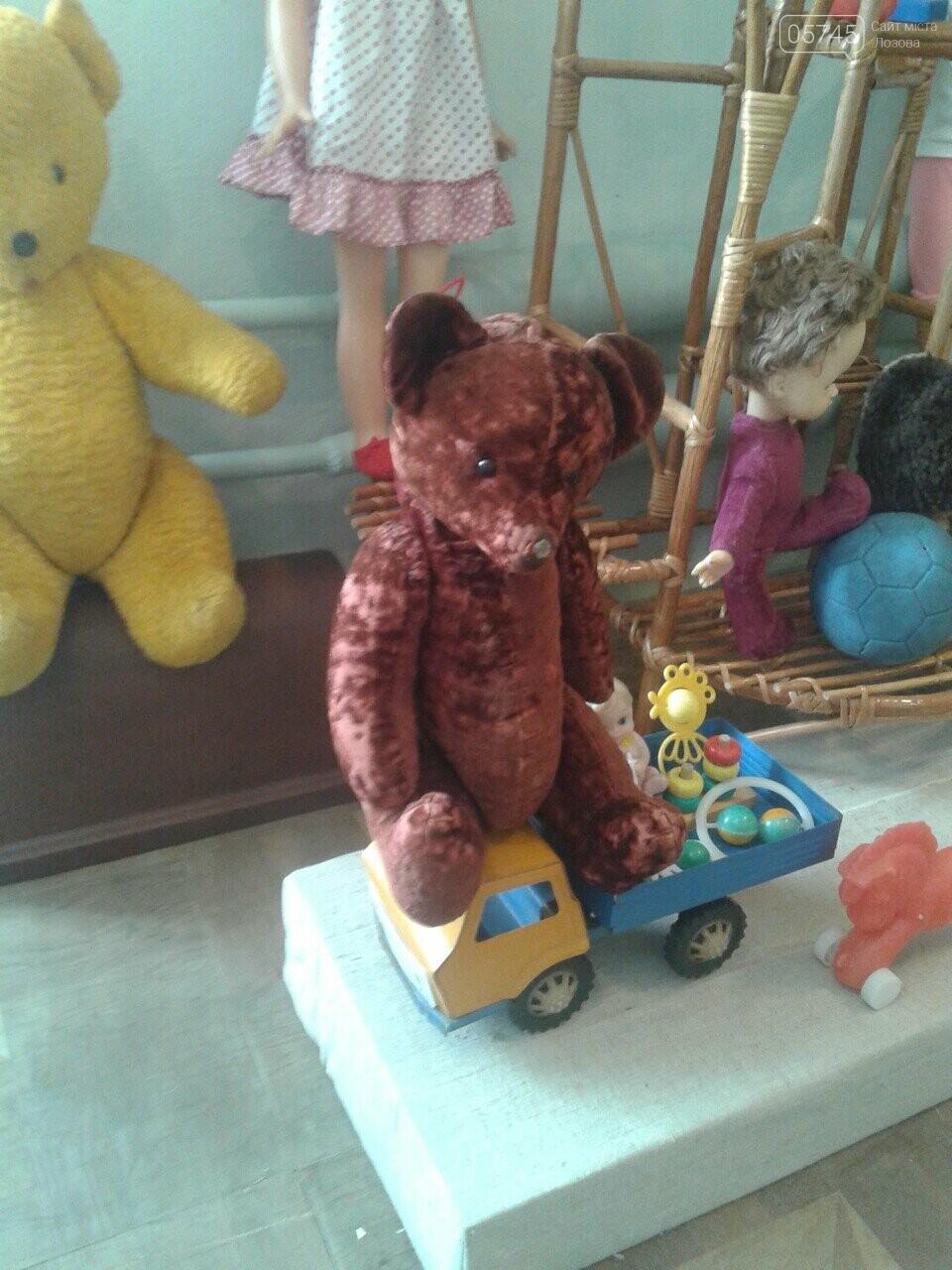 В Лозовском музее проходит выставка раритетных игрушек, фото-1