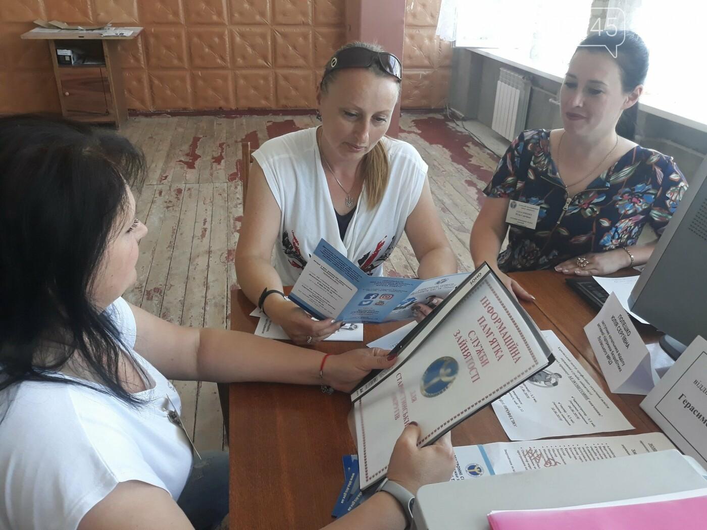 Центр занятости консультирует жителей Лозовской ОТГ на выезде, фото-2