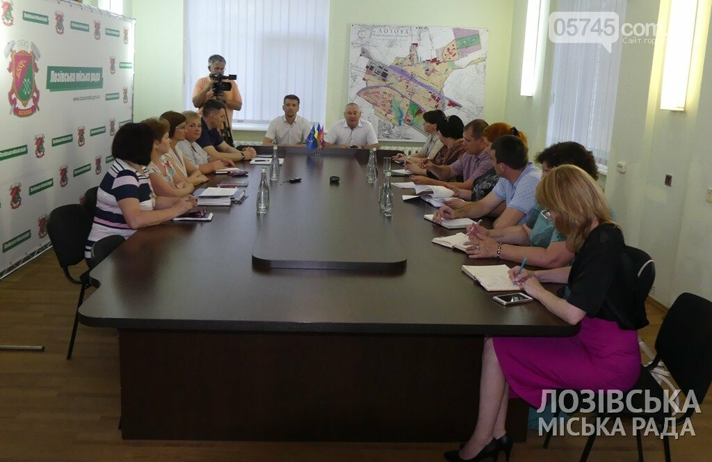 В области учатся опыту создания ОТГ. В Лозовую приезжали представители Купянска. , фото-2