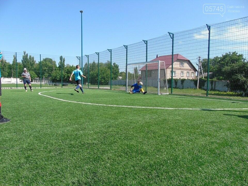 Лозовские футболисты сыграли переходные матчи Лиг , фото-2