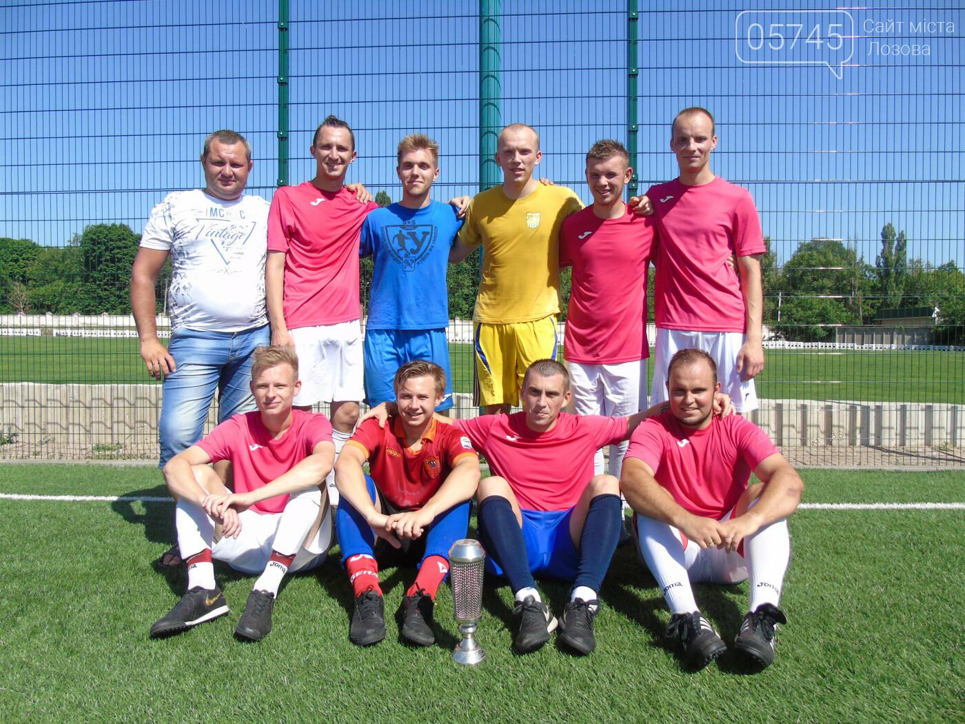 Лозовские футболисты сыграли переходные матчи Лиг , фото-1