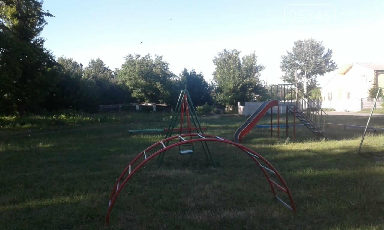Ничейные качели. Кто отвечает за детские площадки в Лозовой?, фото-2