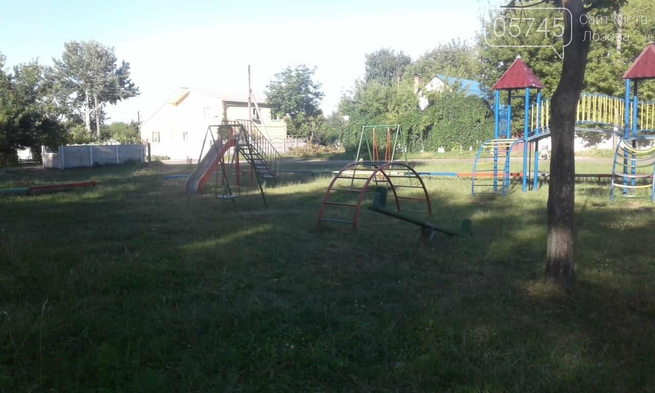Ничейные качели. Кто отвечает за детские площадки в Лозовой?, фото-3