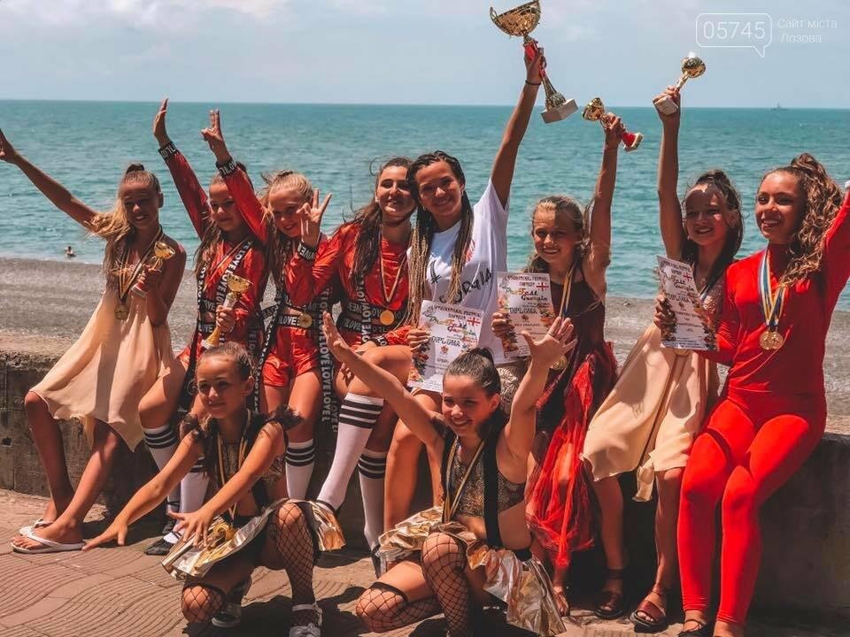 Лозовские танцоры завоевали Гран-при и 5 первых мест на конкурсе в Грузии, фото-1