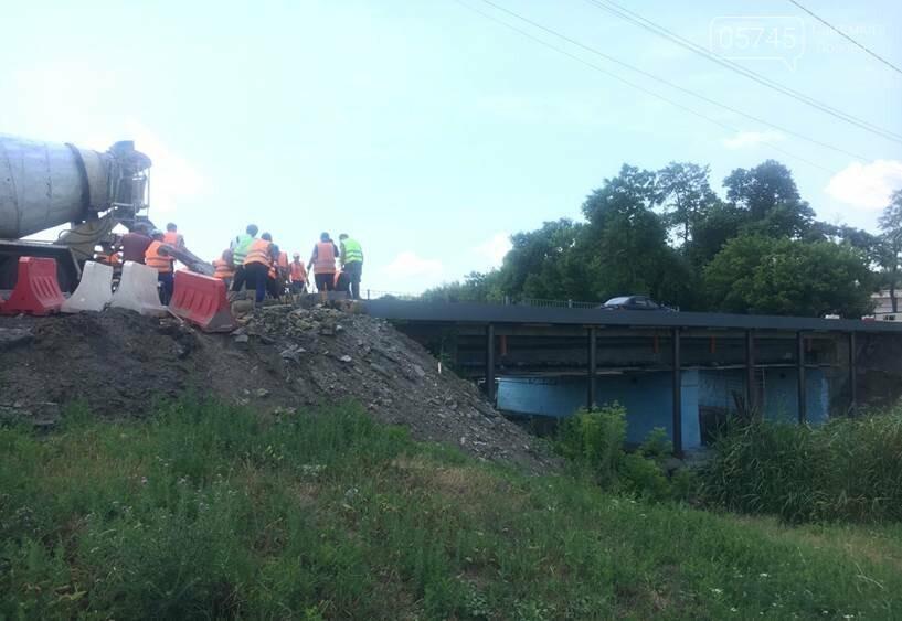 На Лозовщине в селе Катериновка ремонтируют мост, фото-1