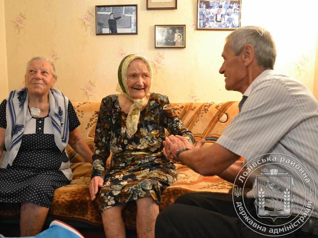 Самая старшая жительница Лозовщины отпраздновала 100-летний юбилей, фото-4