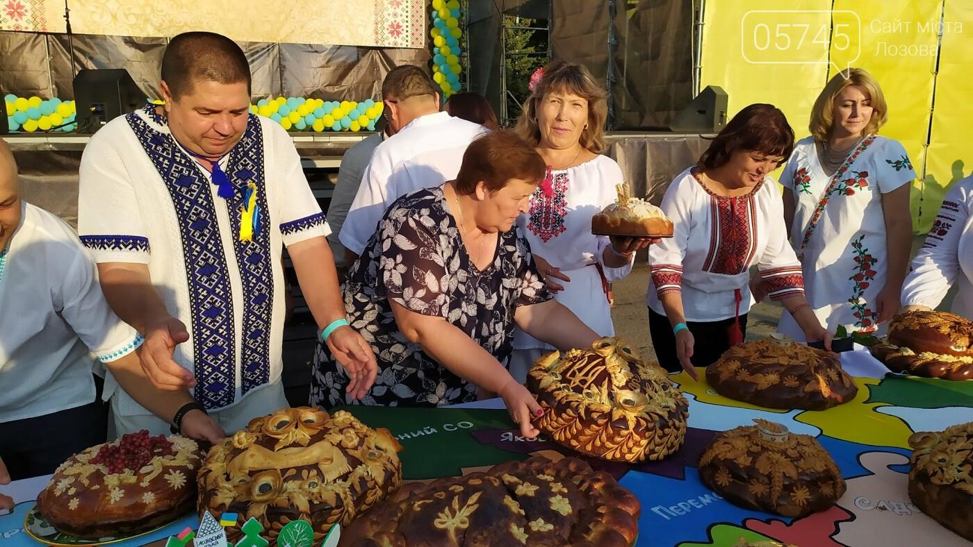 День Независимости в Лозовой: шествие в вышиванках, презентация караваев, фестиваль творчества  , фото-24