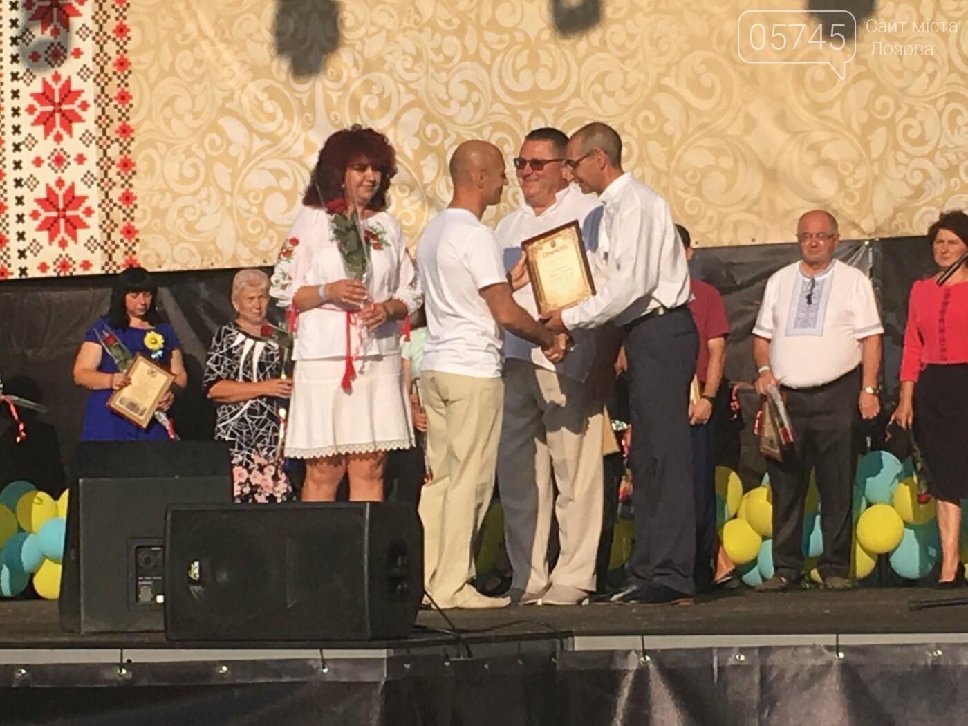 День Независимости в Лозовой: шествие в вышиванках, презентация караваев, фестиваль творчества  , фото-17