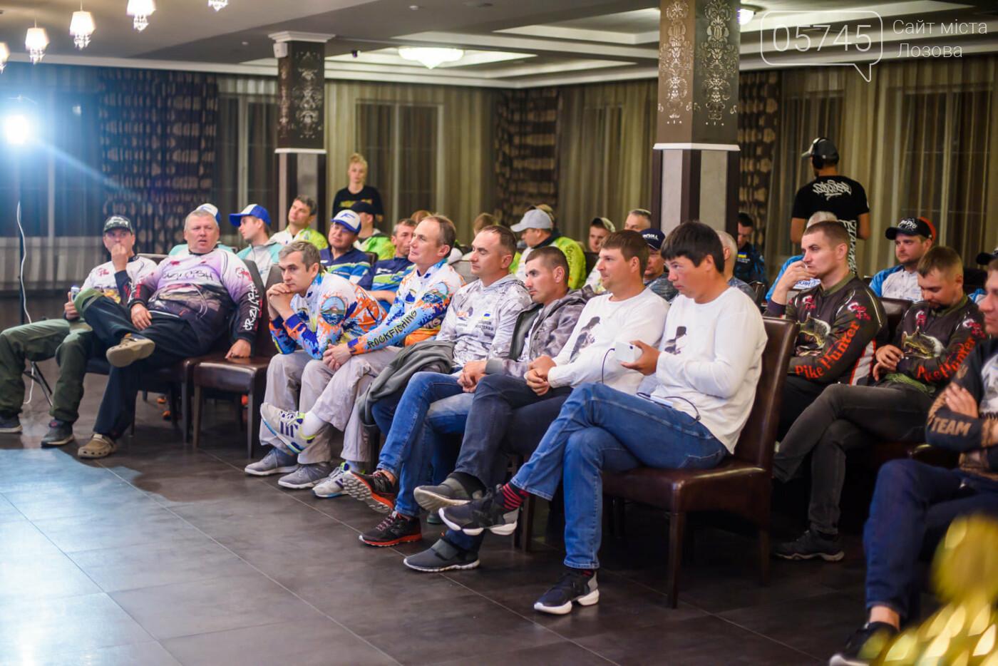 Рыболовы-спортсмены Лозовой заняли призовое место на Кубке Украины по ловле хищной рыбы, фото-5