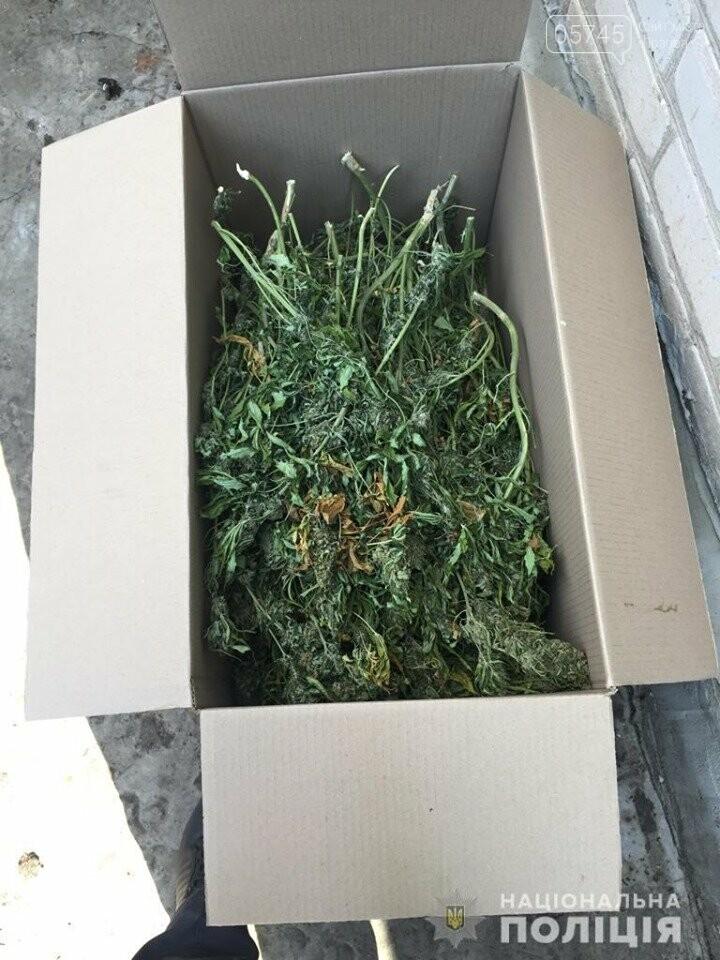 Лозовские полицейские изъяли около 55 килограмм наркотиков у двух подпольных наркоплантаторов, фото-5