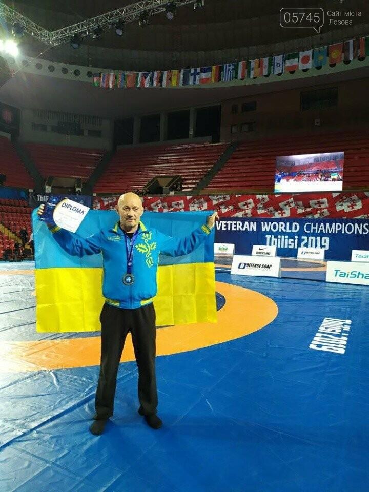 Лозовчанин Аркадий Илиметов стал Чемпионом мира среди ветеранов по вольной борьбе, фото-1