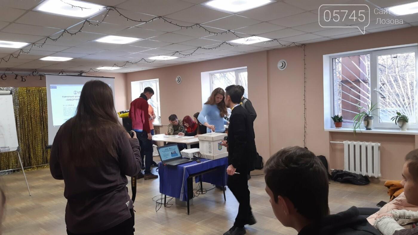 Старшеклассникам Лозовщины рассказали об основах избирательного процесса, фото-8