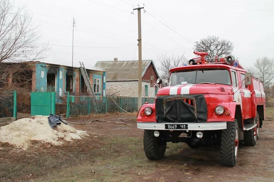 В селе Бунаково на Лозовщине в пожаре погибла бабушка, фото-1