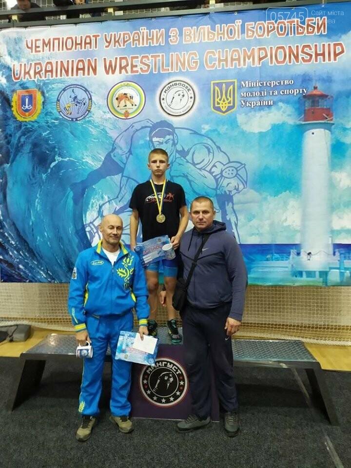Лозовской борец добыл победу на Чемпионате Украины, фото-1