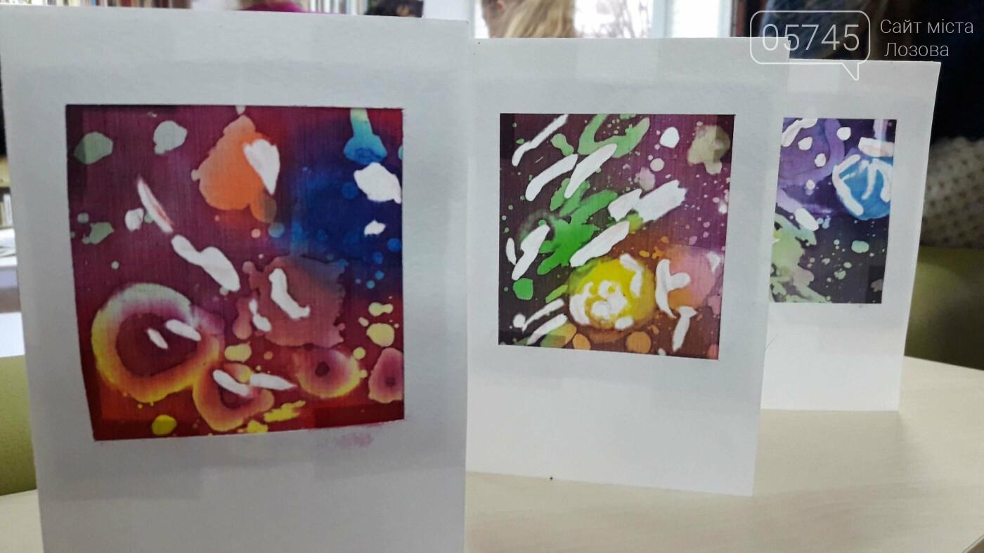 В детской библиотеке учили рисовать по ткани методом «Горячий батик», фото-24