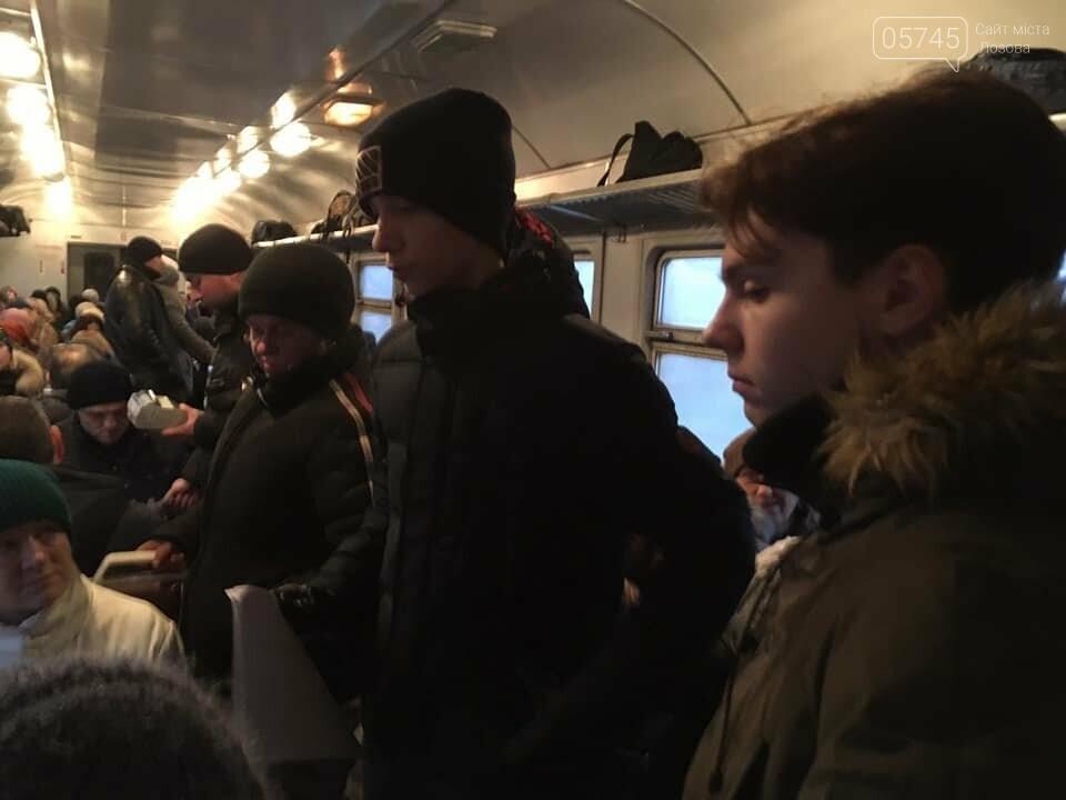 """Активисты лозовского молодёжного хаба """"Pixel"""" провели акцию в пригородном электропоезде , фото-7"""
