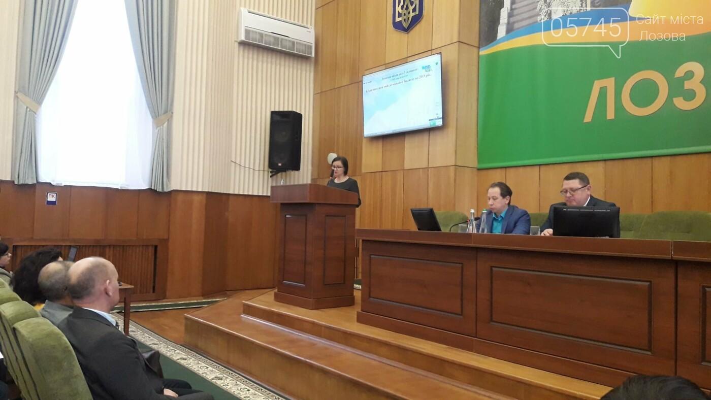 Депутаты Лозовского горсовета утвердили бюджет ОТГ на 2020 год, фото-1