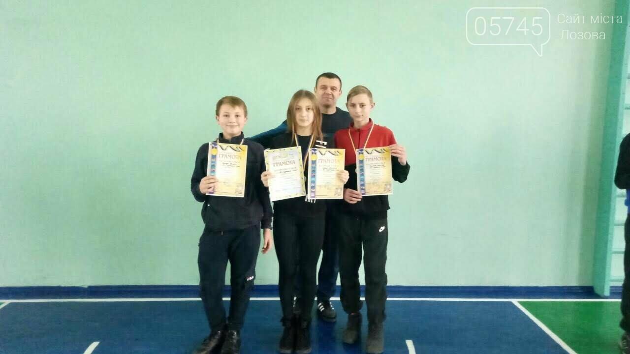 Среди школьников Лозовской ОТГ прошли соревнования по бадминтону, фото-1