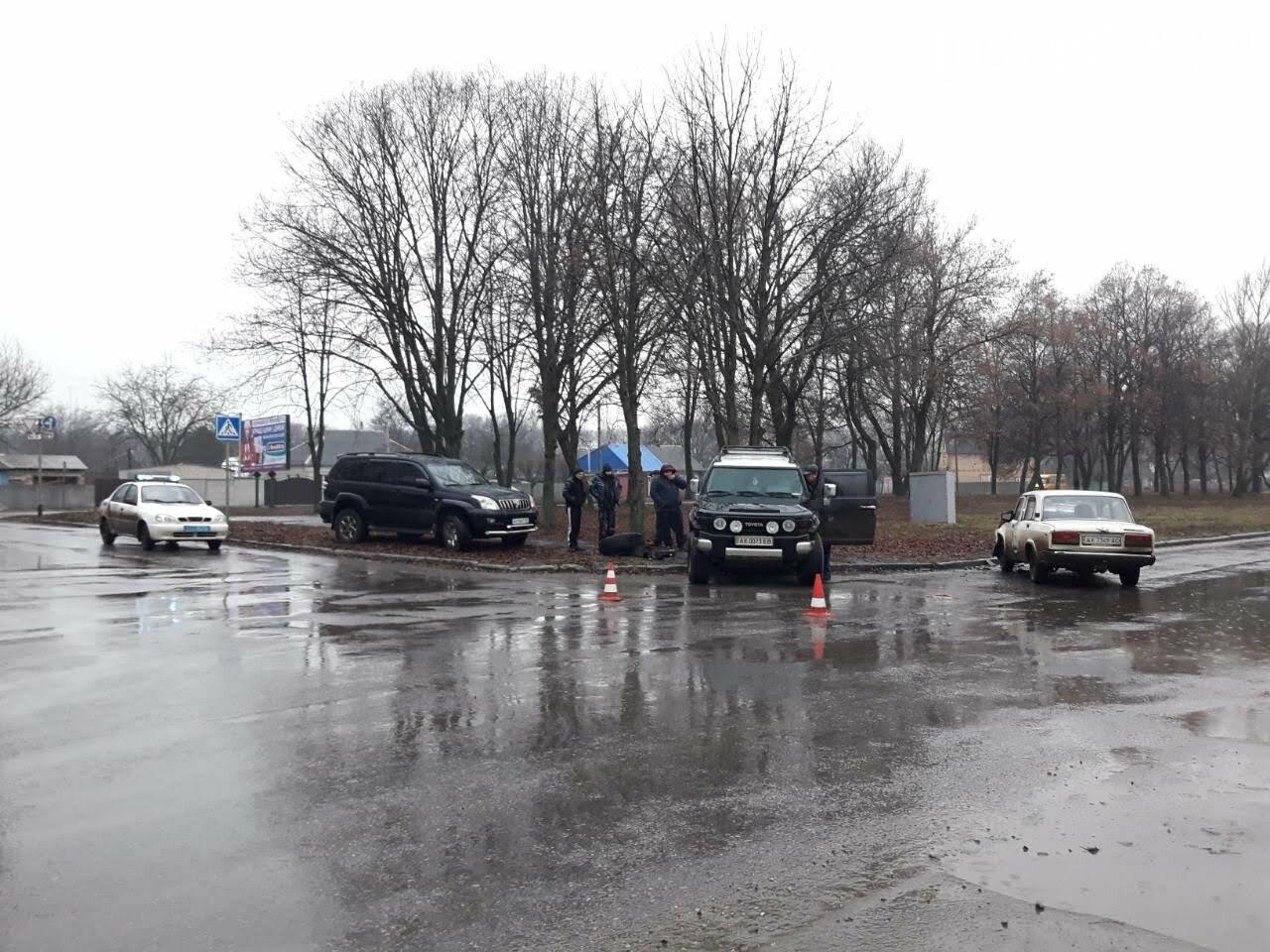 Вторая автоавария за день случилась на Лозовщине, фото-1
