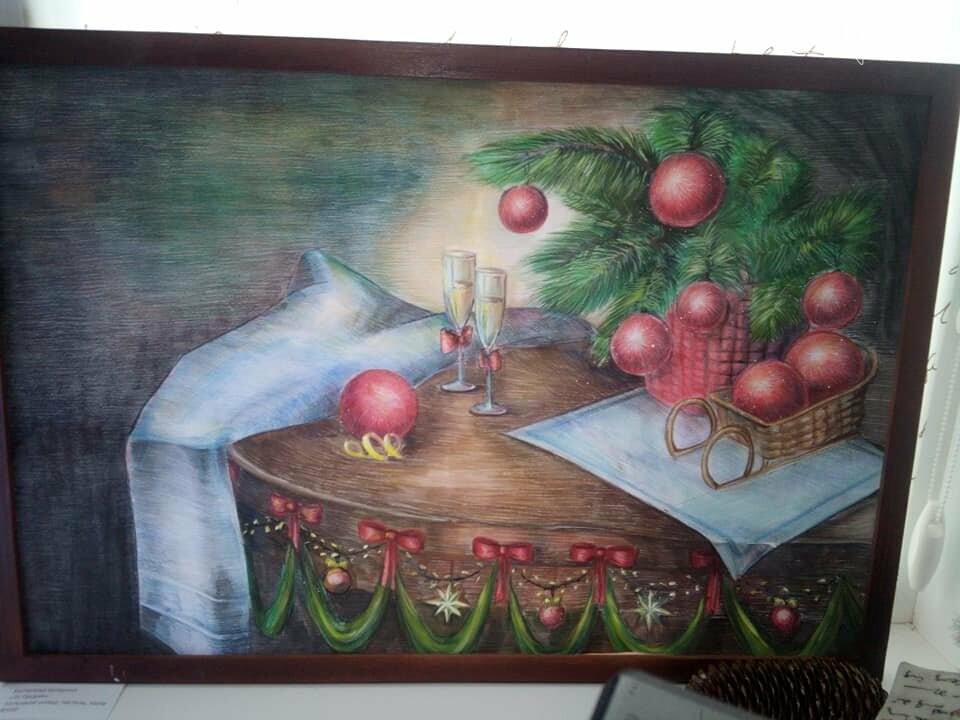 Лозовская юношеская библиотека приглашает на выставку картин, фото-1