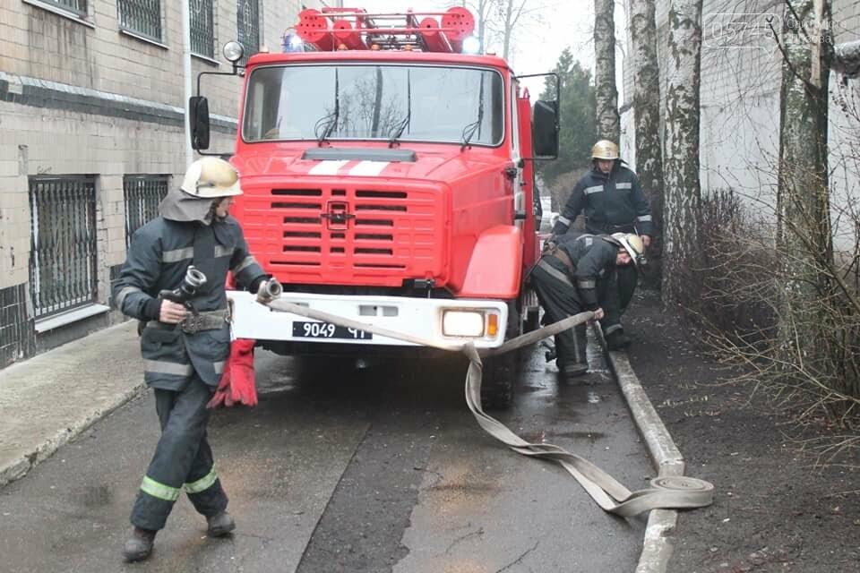 Лозовской суд эвакуировали из-за фиктивного пожара, фото-1