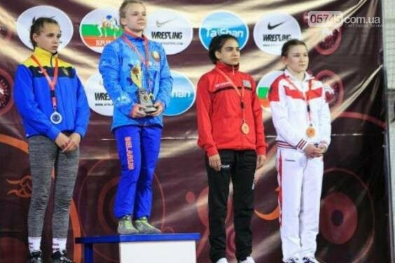 Воспитанница лозовской ДЮСШ стала призером Всеукраинского турнира по вольной борьбе, фото-2