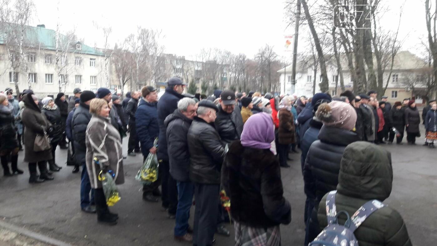 Отметили праздник: в Лозовой на День Соборности возложили цветы (Фото), фото-3