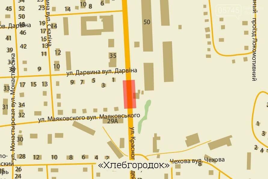 Самые опасные места на дорогах Лозовой: карта, фото-1