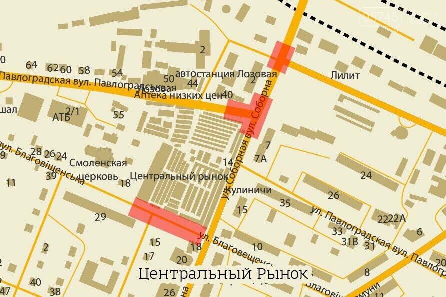 Самые опасные места на дорогах Лозовой: карта, фото-2