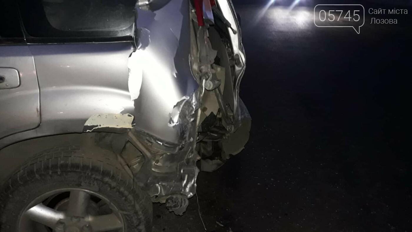 В Лозовой нетрезвый водитель протаранил три автомобиля и скрылся (ФОТО), фото-1