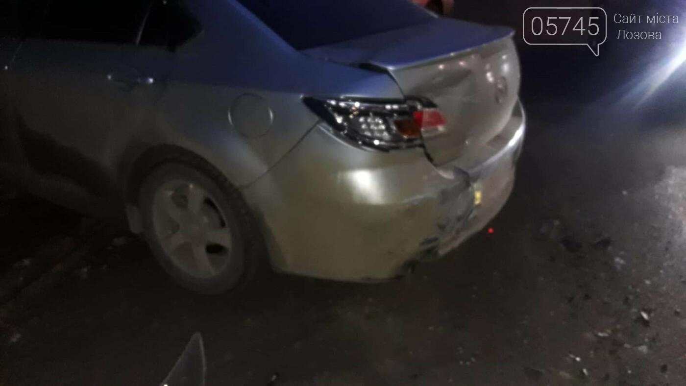 В Лозовой нетрезвый водитель протаранил три автомобиля и скрылся (ФОТО), фото-4
