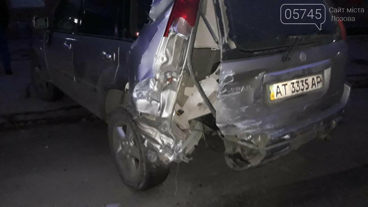 В Лозовой нетрезвый водитель протаранил три автомобиля и скрылся (ФОТО), фото-5
