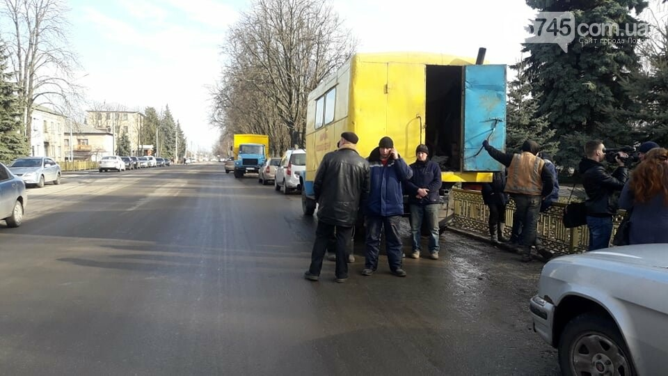 Работники ДП «Лозоваяводосервис» митинговали в горсовете, фото-3