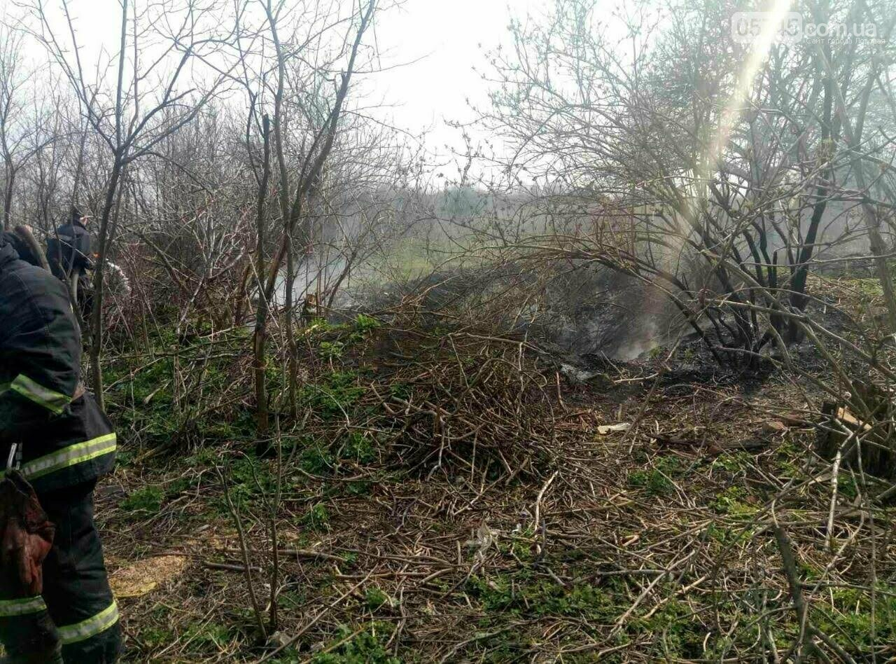 Горели камыш и трава: на выходных на Лозовщине случилось 9 пожаров, фото-7