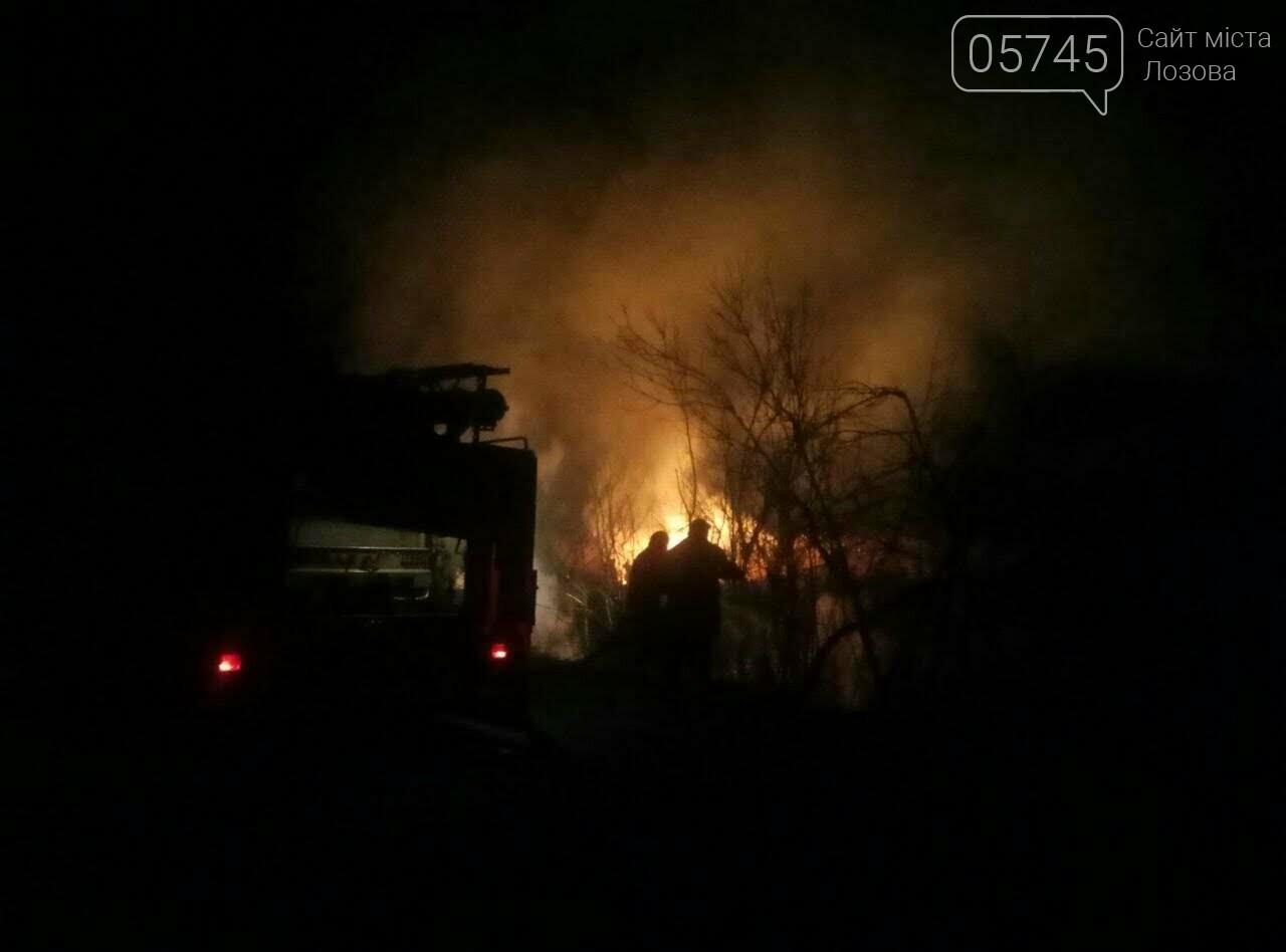 Горели камыш и трава: на выходных на Лозовщине случилось 9 пожаров, фото-1